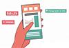 Animated Infographic Tutorial for Energy Saving App Fluttr